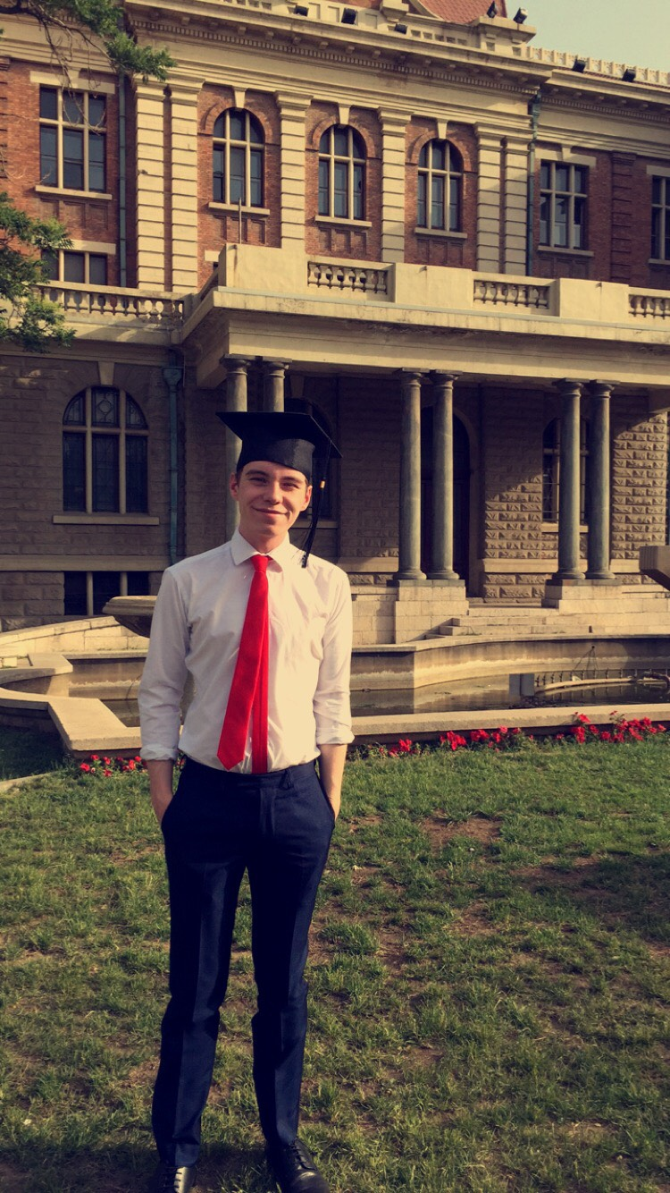 Scott Graduating